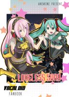 Front Cover vocaloid fanbook by SupTomat