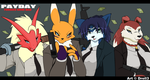 Payday - Furries gone bad by Droll3