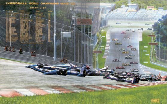 The 2022 World Grand Prix Entry List by SONICX1027