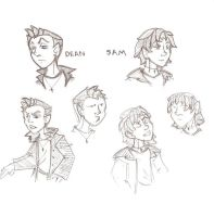 sketchdump:Winchester by theplanetmary