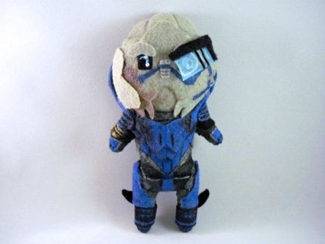Plushie Garrus by Pinka-Starlight
