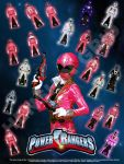 Pink and Assorted Ranger Keys by LavenderRanger