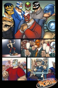 Republika Lucha Sequential by bennyfuentes