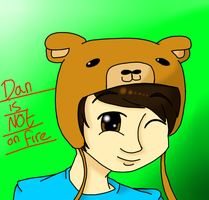 Art Trade: DanIsNotOnFire by singingaboutthesnow