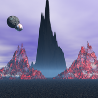 gateway to oblivion mountain by Neon2005