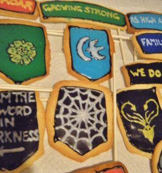 Game of Thrones Sugar Cookies Pt. 2 by Stephanefalies