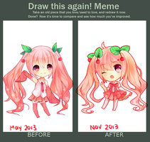 Draw this again (6 months) by Rainry