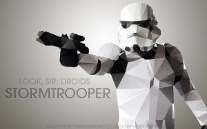 Star Wars Wallpaper: Stormtrooper by BecomingTia