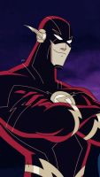 The Flash|Justice League Unlimited New 52 Re Edit by mariananaca