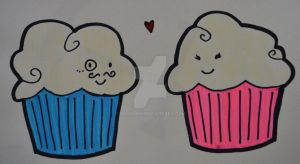 Chibi Cupcakes Colored by olivia808