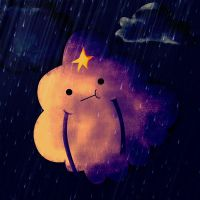Lumpy Space Rain by RedAzaela