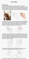 Hand tutorial by Tiribrush