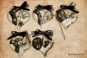 Steampunk Heart, more silver by maria-chan