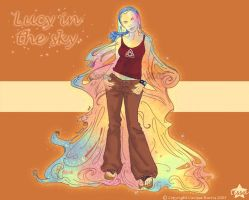 Lucy in the Sky by tissa