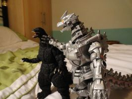 MonsterArts VS Chogokin 3 by GIGAN05