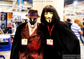 Rorschach - Comic-con 2009 V by williamshade