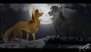 AT : The Last Night by AriaDog