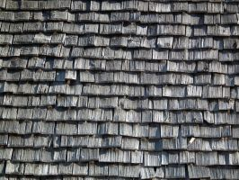 Cedar Shingle Roof 02 by Limited-Vision-Stock