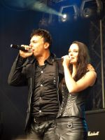 Kamelot - Roy Khan and  Anne-Catrin Maerzke by Jaraid