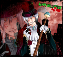 Halloween contest Corazon de melon by Yami-Loveless