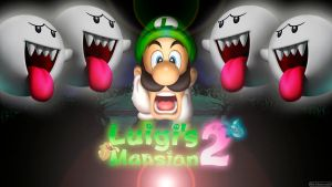 Luigi's Mansion 2 (Ghosts) - Wide by AleNintendo