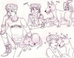 Comic -Andrew Ref- by Aymeysa