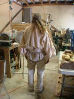Mountainman costume back by Marcusstratus