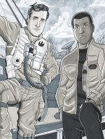 Poe And Finn by calslayton
