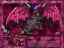 .::Dark Ethereal Goddess (Dragon Ref Sheet)::. by Ezallyia