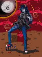 Vriska Serket Taunting You! by Kitthehedgehog