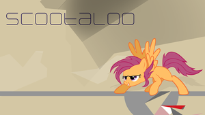 Koan Scootaloo by SamXJing