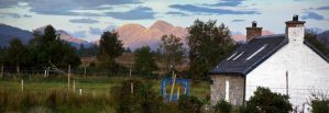 cottage panorama by DamianKane