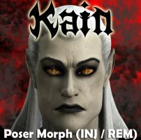 Kain Poser Character by 3D-Fantasy-Art
