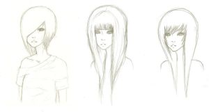 Character Designs by Sighed