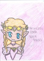 Spirit Tracks: Princess Zelda by Zelink5