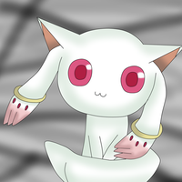Kyubey by cosmic-crystals