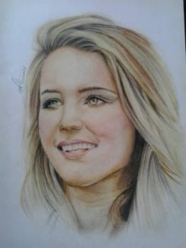Diana Agron by Peritum
