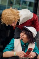 .:Tiger and Bunny:. Is this MY Phone!? by KyouyaGavin