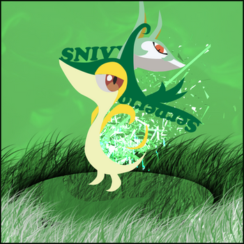 Snivy and Serperior by Edward--ed