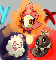 New Pokemon X-Y by LizardonEievui13