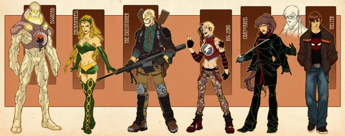 Young Avengers by diablo2003