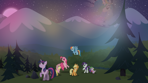 Wallpaper - Friendship is magic... by Zoekleinman