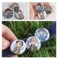 Supernatural Buttons by Avender
