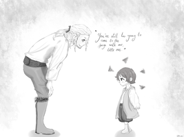 'But I want to go with you anyway' by Isram