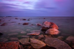 Rocks and Sea by m-eralp