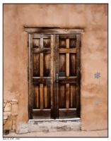 Santa Fe Door by photodoc2