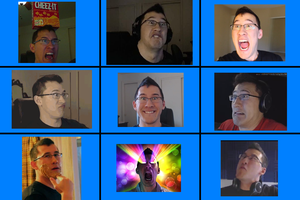 Markiplier Bunch: Crazy Faces (1) by WorldwideImage