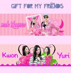 Gift for my friends #1 by KwonJina-ParkEunPon