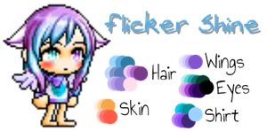 Flicker Shine OC Ref by Firepoppy