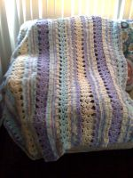 new afghan completed by lovechairmanmeow